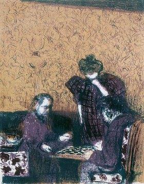 Edouard Vuillard: La Partie des Dames (Das Damespiel)