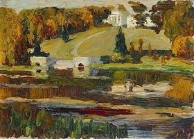 Wassily Kandinsky: Herbststudie Rußland 1901 (oder: Achtyrka)