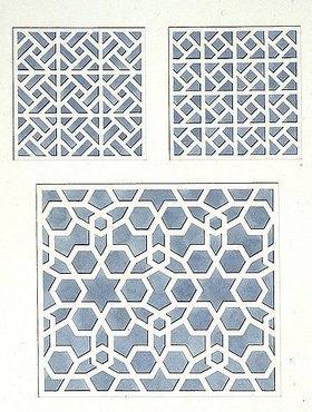 Friedrich Maximilian Hessemer: Ohne Titel. Aus dem Konvolut 'Ägyptische Ornamente und Wandmalereien'