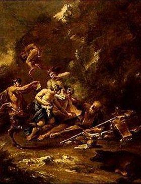 Sebastiano Ricci: Versuchung des hl.Antonius
