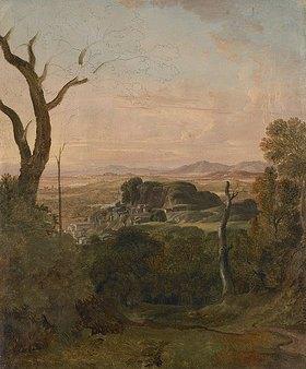 Carl Ludwig Kaaz: Römische Landschaft bei Tivoli