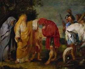 Peter Paul Rubens: Die Totenweihe des römischen Feldherrn Decius Mus. Öl-Skizze
