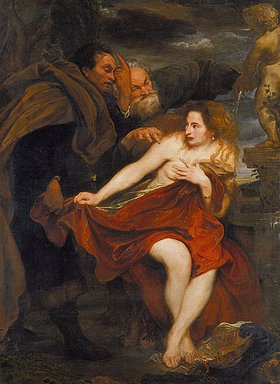 Anthonis van Dyck: Susanna im Bade