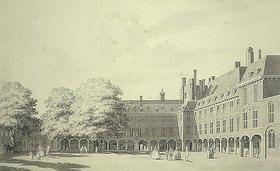 Cornelis Pronk: Der Binnenhof in Den Haag