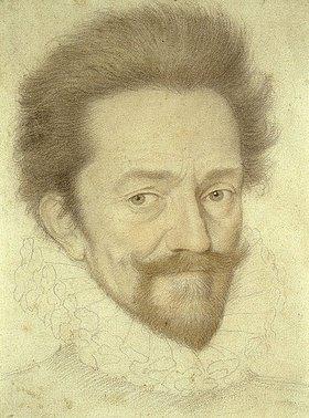 Francois Quesnel: Bildnis eines bärtigen Mannes mit Halskrause