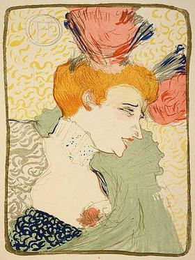 Henri de Toulouse-Lautrec: Mademoiselle Marcelle Lender, en buste