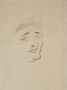 Henri de Toulouse-Lautrec: Frauenkopf (Lenda)