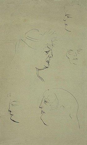 Henri de Toulouse-Lautrec: Frauenköpfe