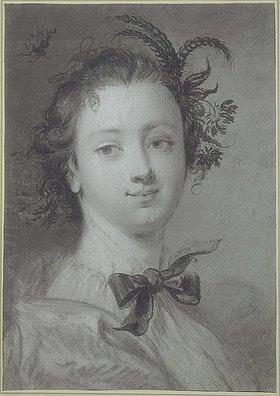 Cornelis Troost: Eine junge Frau als Personifikation des Sommers