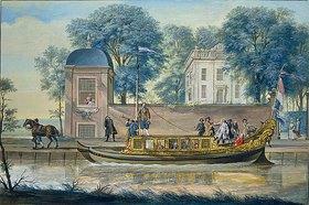 Cornelis Troost: Suijpe Steijn / Feiernde Gesellschaft bei Suijpe Steijn nahe Amsterdam