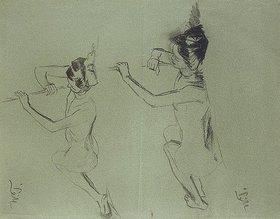 Wilhelm Trübner: Zwei weibliche Akte