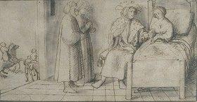 Peter d. J. Visscher: König Peter von Aragonien und die Schöne Lisa (Boccaccio, Decamerone X,7)