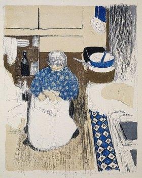 Edouard Vuillard: La Cuisinière (Die Köchin)
