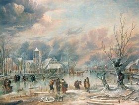 Aert van der Neer: Winterlandschaft