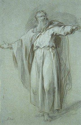 Jacob de Wit: Figurenstudie: Moses