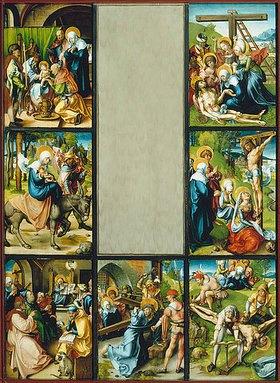 Albrecht Dürer: Altar: Die sieben Schmerzen der Mariae