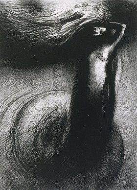 Odilon Redon: La mort: Mon ironie dépase toutes les autres!
