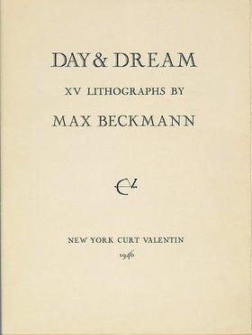 Max Beckmann: Day and Dream, Titelseite (Mappe zu den Inv. Nr. SG 3160-SG 3174)