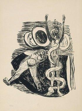 Max Beckmann: Day and Dream, Blatt XIV - The Fall of Man. (Sündenfall)