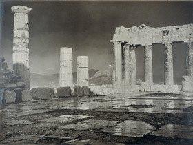 Frédéric Boissonnas: Athen. Die Akropolis nach dem Regen