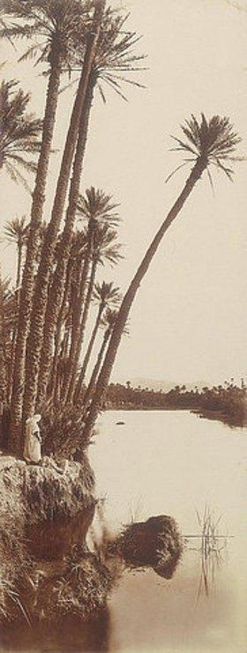 Rudolf Franz Lehnert: Araber am Flussufer
