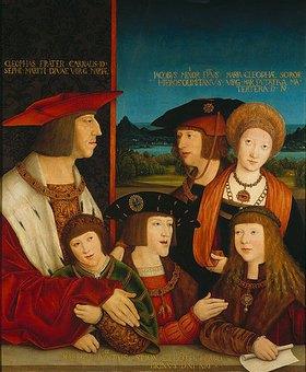 Bernhard Strigel: Die Familie Kaiser Maximilians I