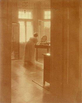 Heinrich Kühn: Morgentoilette