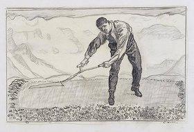 Ferdinand Hodler: Mäher auf dem Felde