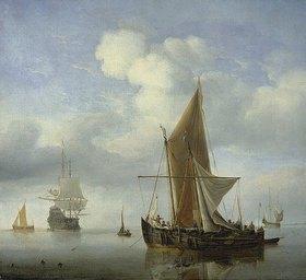 Willem van de Velde d.J.: Ruhige See