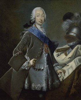 russisch Anonym: Bildnis Peters III. von Russland