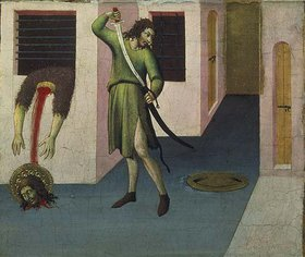 Sano di Pietro: Die Enthauptung Johannes' des Täufers