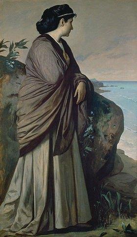 Anselm Feuerbach: Am Meer (Moderne Iphigenie)