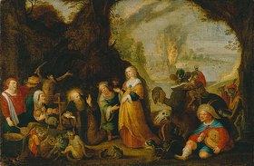 Frans Francken II.: Die Versuchung des hl. Antonius. Nach