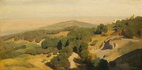 Oswald Achenbach: Sabiner Berge bei Tivoli. 1850