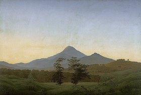 Caspar David Friedrich: Böhmische Landschaft