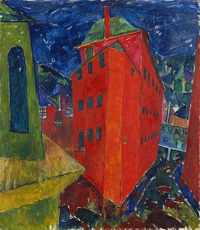 Walter Ophey: Rotes Haus in Monschau