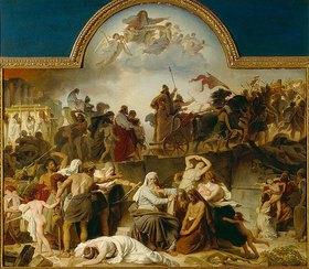 Eduard Bendemann: Die Wegführung der Juden in die babylonische Gefangenschaft