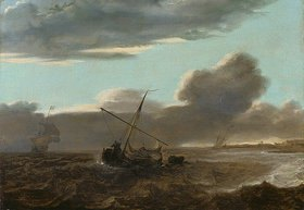 Jan Theunisz (gen.Jan Maet) Blanckerhoff: Schiffe auf stürmischer See