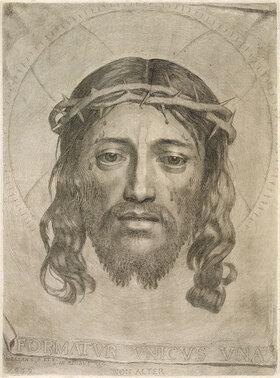 Claude Mellan: Das Antlitz Christi