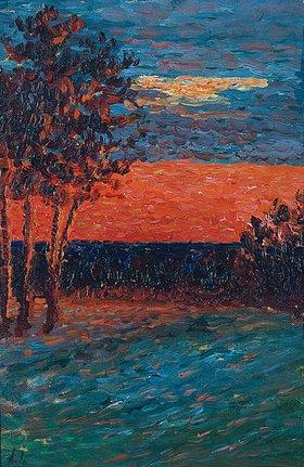 Alexej von Jawlensky: Abendglühen. 1905