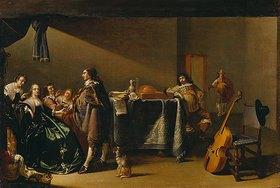 Jacob Duck: Musizierende Gesellschaft. 2./3. V. 17. Jh