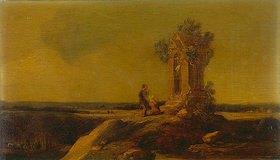 Allaert van Everdingen: Landschaft mit Gnadenkapelle