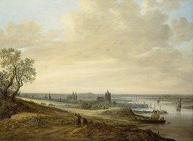 Jan van Goyen: Panorama-Landschaft mit Blick auf Arnheim