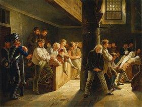 Wilhelm Heine: Gottesdienst in der Zuchthauskirche