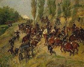 Johann Emil Hünten: Aus der Schlacht von Gravelotte