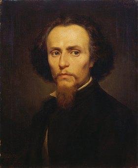 Ernst Bosch: Brustbild des Malers Hubert Salentin