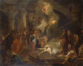 Januarius Zick: Die Enthauptung Johannes des Täufers