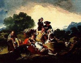 Francisco José de Goya: Die Landpartie