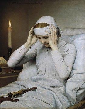 Gabriel von Max: Die ekstatische Jungfrau Katharina Emmerick