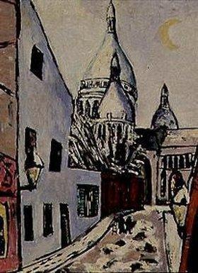 Max Beckmann: Sacre-Coeur im Schnee